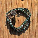 Tree Agate Wrap Bracelet